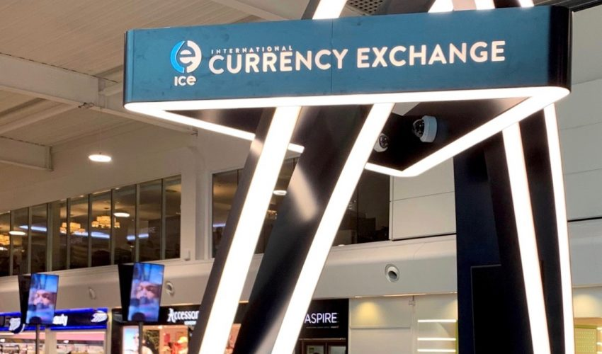International Currency Exchange, London Luton Airport